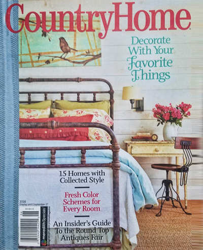 Country Home 2016 featured Kathyn Greeley Designs