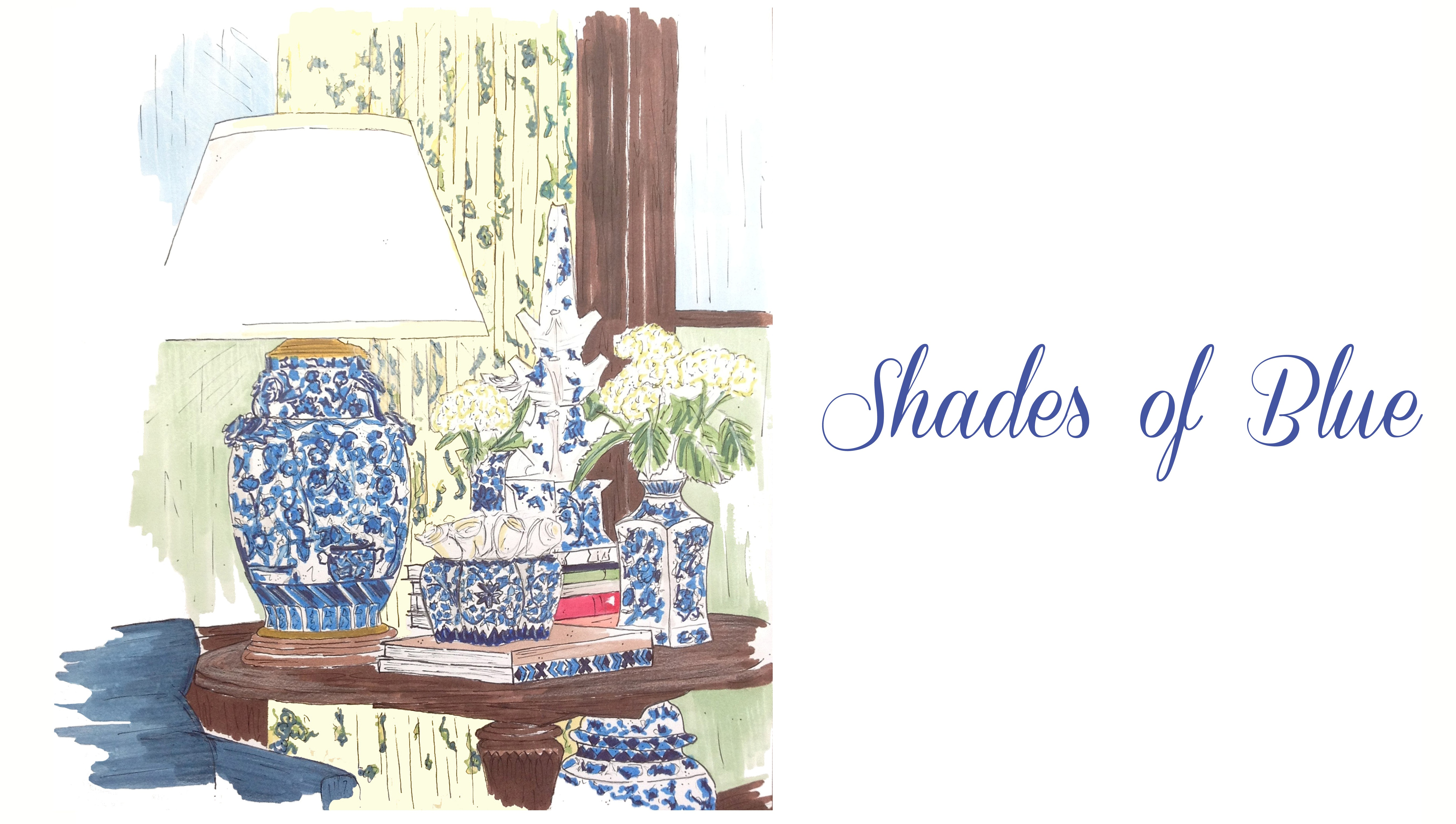 north carolina interior designer of asheville kathryn greeley designs uses shades of blue ralph lauren fabrics to inspire her clients and readers