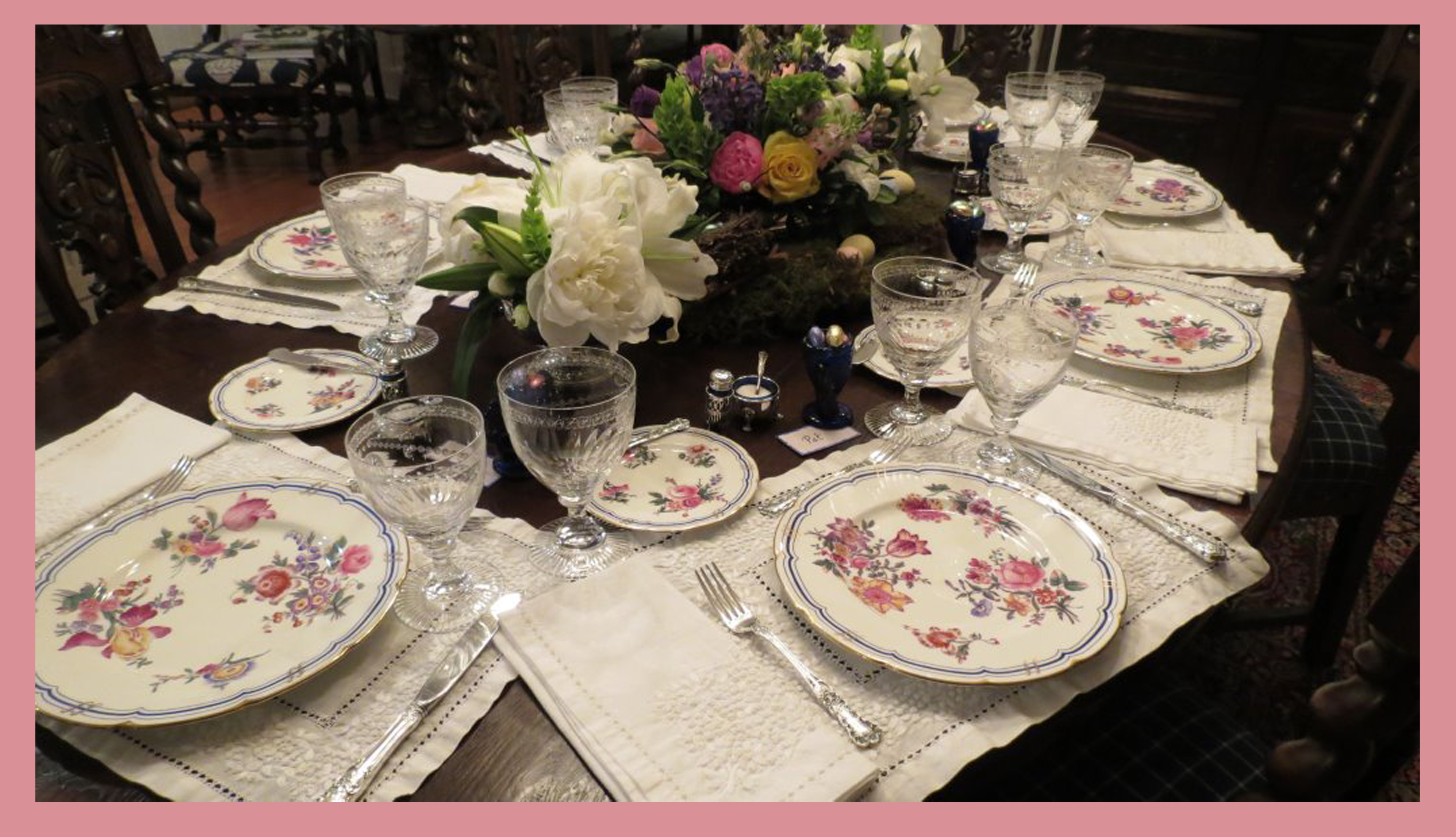 easter lunch 2014 presented by north carolina interior designer and author kathryn crisp greeley the collected tabletop