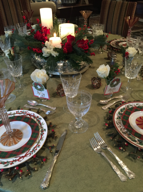 north carolina interior deisgner kathryn greeley presents christmas party at chestnut cottage
