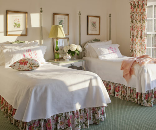 Waynesville Interior Design Guest Bedroom